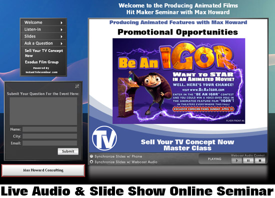 Hit Maker Seminar slide show