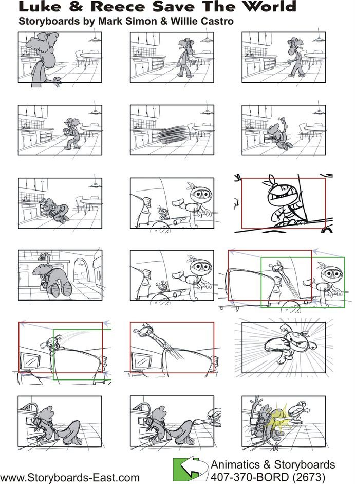 Storyboards  Sell Your Tv Concept Now