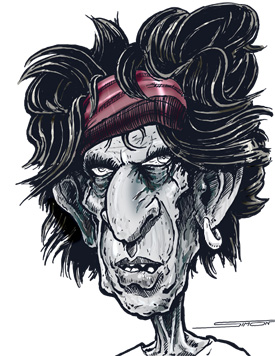 Caricature-Keith-Richards-sm