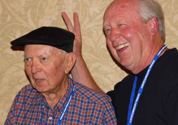 Brad Anderson (Marmaduke) and Jim Davis (Garfield)