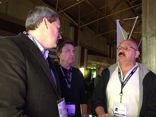 Realscreen_2013_Doug_Stanley_investor_and_Tony_Piegaro