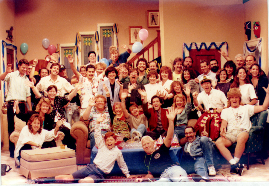 Jeanne Simon and crew on Clarissa