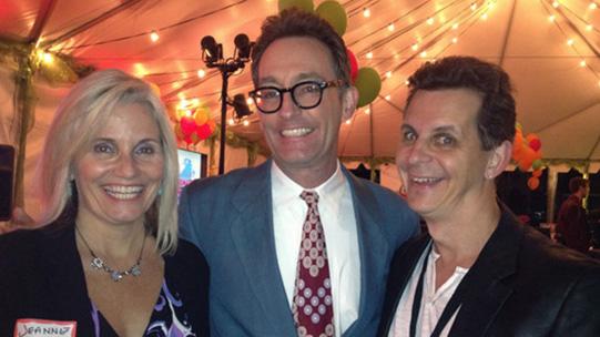 Jeanne, Tom (voice of Spongebob) & Mark