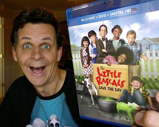 mark with the little rascals blu ray and dvd