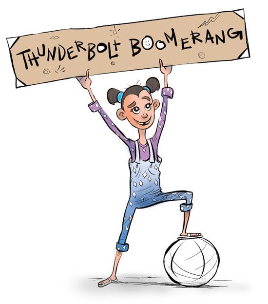 thunderbolt boomerang