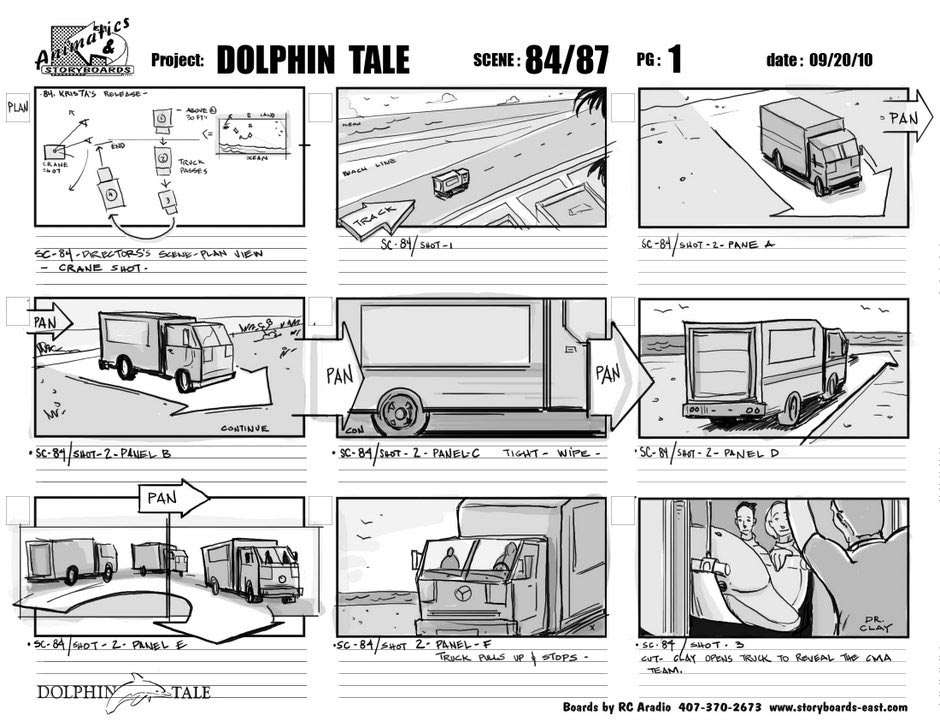 how to write a storyboard for a tv show