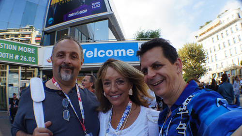 Dr. Jesse Cole, Kristin Alexandre and Mark take on MIPCOM