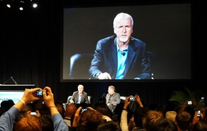 James Cameron and Vince Pace talk about 5D production at NAB