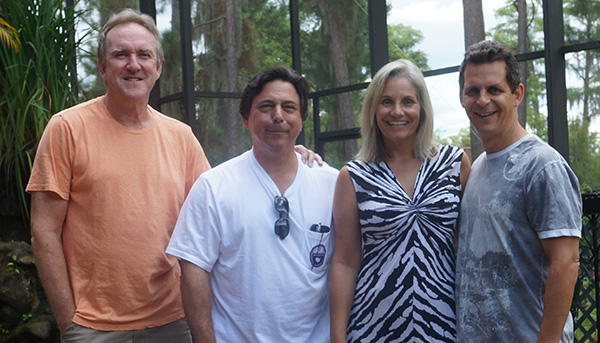 client, Wayne Carter, client Peter Dessak, Jeanne Simon and Mark Simon-sm