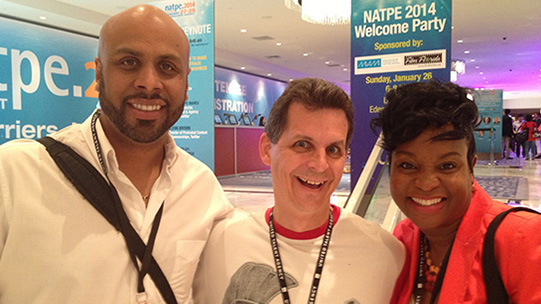 Charla Young was the winner of NATPE's Pitchcon contest