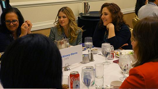 Juliana Dever and Rachel Cohen