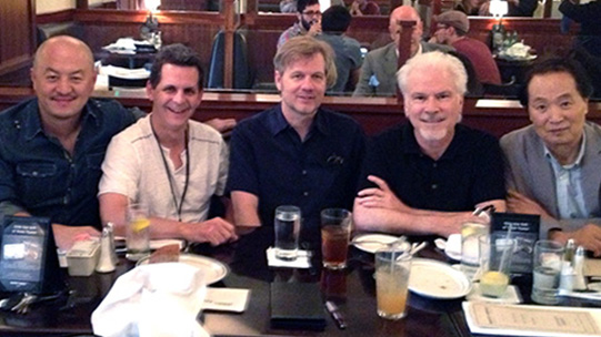 Peter Shiao, Mark, Barry Cook, Jeffrey Scott, and Steven Hahn