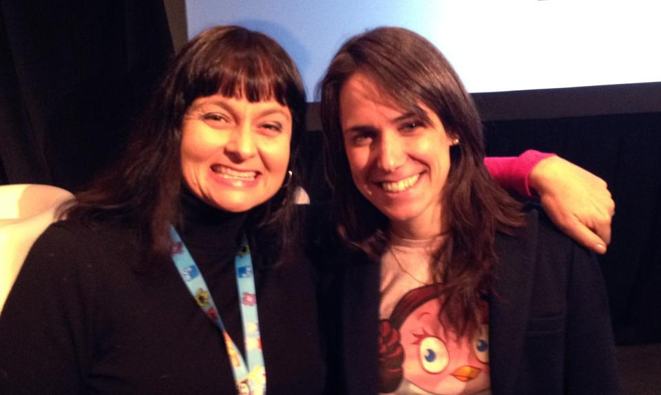 kss-kristin and rovio entertainment vp rachel webber