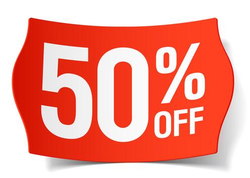 Misc-Discount 50 percent off